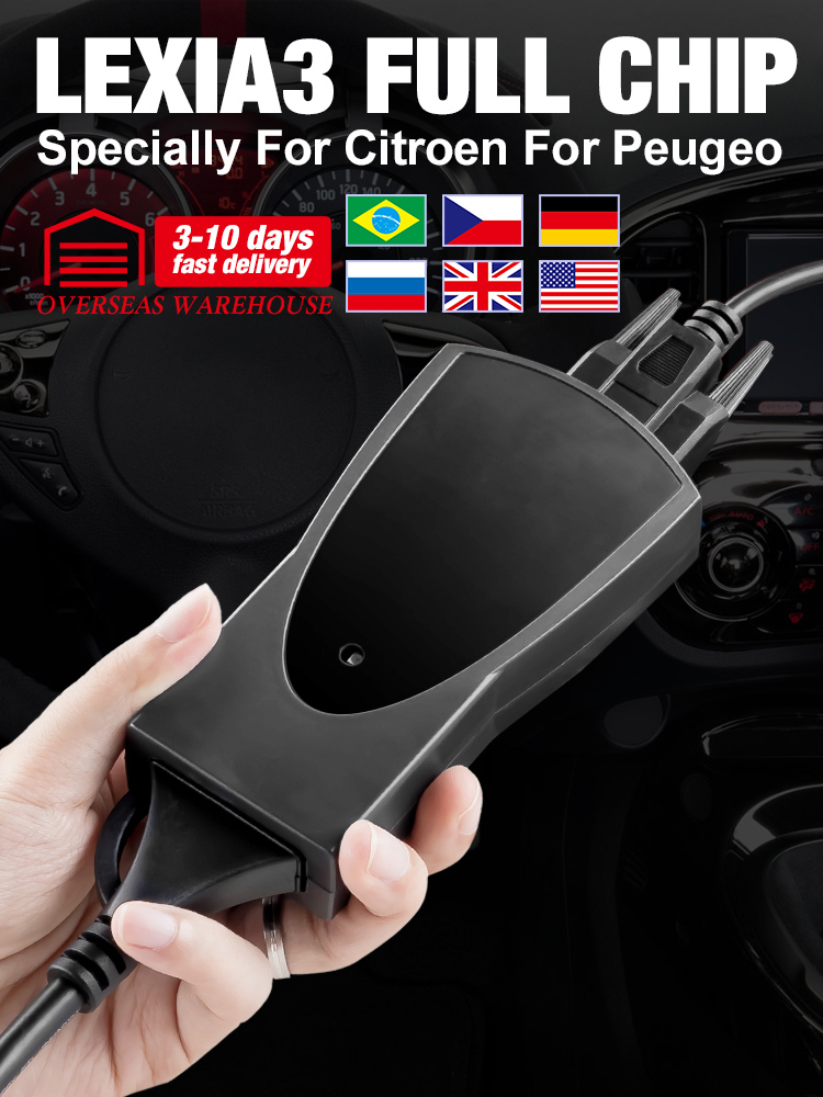 PP2000 Lexia Diagbox Diagnostic-Tool OBDII Full-Chip Peugeot Citroen Firmware for 3