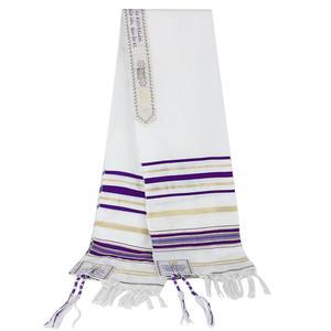 Image 4 - Messianic Jüdische Israel Tallit Gebet Schal Schals Mit Talis Tasche Geschenke für Frauen Damen Männer 180*50cm 5 farben