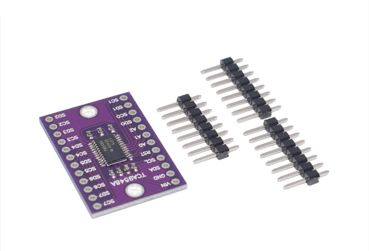 CJMCU- 9548 TCA9548 TCA9548A 1-to-8 I2C carte dextension multicanal 8 voies carte de développement de Module IIC