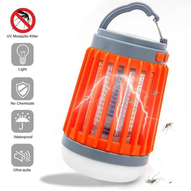 Fuze Bug - Bug Repellent Lamp , SOLAR & USB Charging 1