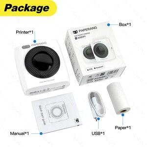 Image 3 - Tasca Mini Stampante Fotografica Portatile Stampante Termica Bluetooth Etichetta Adesiva Macchina per il Mobile Android iOS Finestre PAPERANG P2