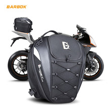 Motorcycle Tail Bag Reflective Waterproof Dustproof Motorbike Tank Helmets Storage Removable Straps Shoudler Backpack Moto