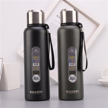New 304 stainless steel bullets insulated cup 600 ml outdoor sports bottle with rope carrying portable thermos