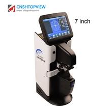 JD2600A 7 ''сенсорный ЖК-экран автоматический Lensmeter цифровой объектив метр Lensometer Focimeter с PD UV принтер