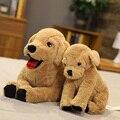 Милая собака, плюшевая игрушка, щенок Лабрадора, мягкая кукла, мягкая, реальная жизнь, животное, лежащая собака, подушка, детские игрушки, под...