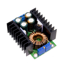 цена на DC/CC Adjustable XL4016 Power Supply Module 0.2-9A 300W Step Down Buck Converter 5-40V To 1.2-35V LED Driver For Arduino XL4016