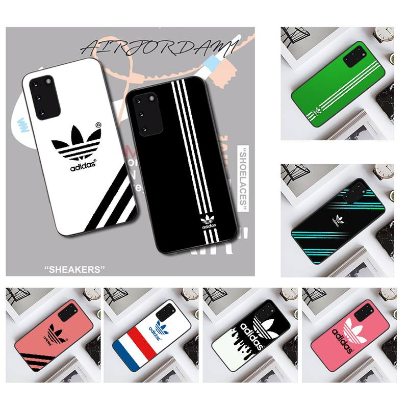 PENGHUWAN sport brand iphone case Soft Silicone TPU Phone Cover for Samsung S20 plus Ultra S6 S7 edge S8 S9 plus S10 5G