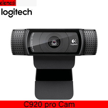C930C Video Webcam  HD Smart 1080P Webcam with Cover for Computer Zeiss Lens USB Video camera 4 Time Digital Zoom Web cam