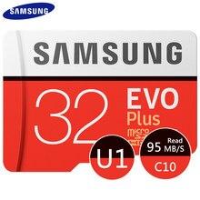 SAMSUNG – carte Micro SD EVO Plus, 64 go/128 go/256 go/100 go, TF, 512 mo/s, pour téléphone portable