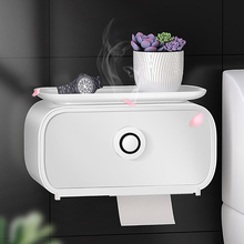 Toilet Paper Holder Waterproof Wall Mounted for Toilet Paper Tray Roll Paper Tube Storage Box Tray Tissue Box Shelf Bathroom newest dental tray disposable cup storage holder paper tissue box for dental chair