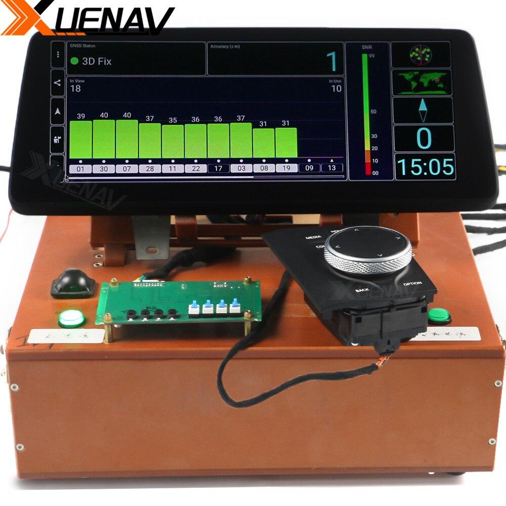 Мультимедийный плеер XUENAV, с большим сенсорным экраном 12,3 дюйма, GPS, Wi-Fi, BT, для BMW ID7 2019 +