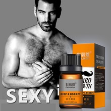 Recommend Nourishing Men\'s Beard Growth Essential Oil Anti-drying Anti-fork Bea