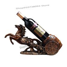 Wine-Shelf Red-Wine-Rack Chinese-Style with Home Furnishings And Carriage Creative High-Grade
