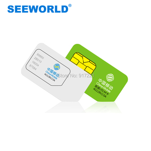 SEEWORLD GPS Tracker SIM Cards - Compatible With 2G 3G 4G GSM Devices - Domestic and International Country Roaming Available