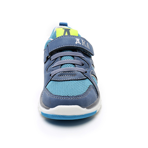 Image 2 - Apakowa Spring Autumn Boys Casual Shoes PU Leather Toddler Kids Mesh Breathable Boys Sneakers Fashion Sports Trainer EU 26 31