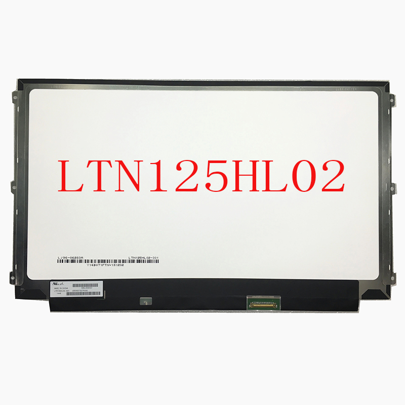 12.5 LCD MATRIX B125HAN02.0 LTN125HL02 301 LTN125HL02 302 for <font><b>HP</b></font> EliteBook <font><b>820</b></font> <font><b>G3</b></font> Laptop Lcd Screen 1920*1080 EDP 30 Pins IPS image