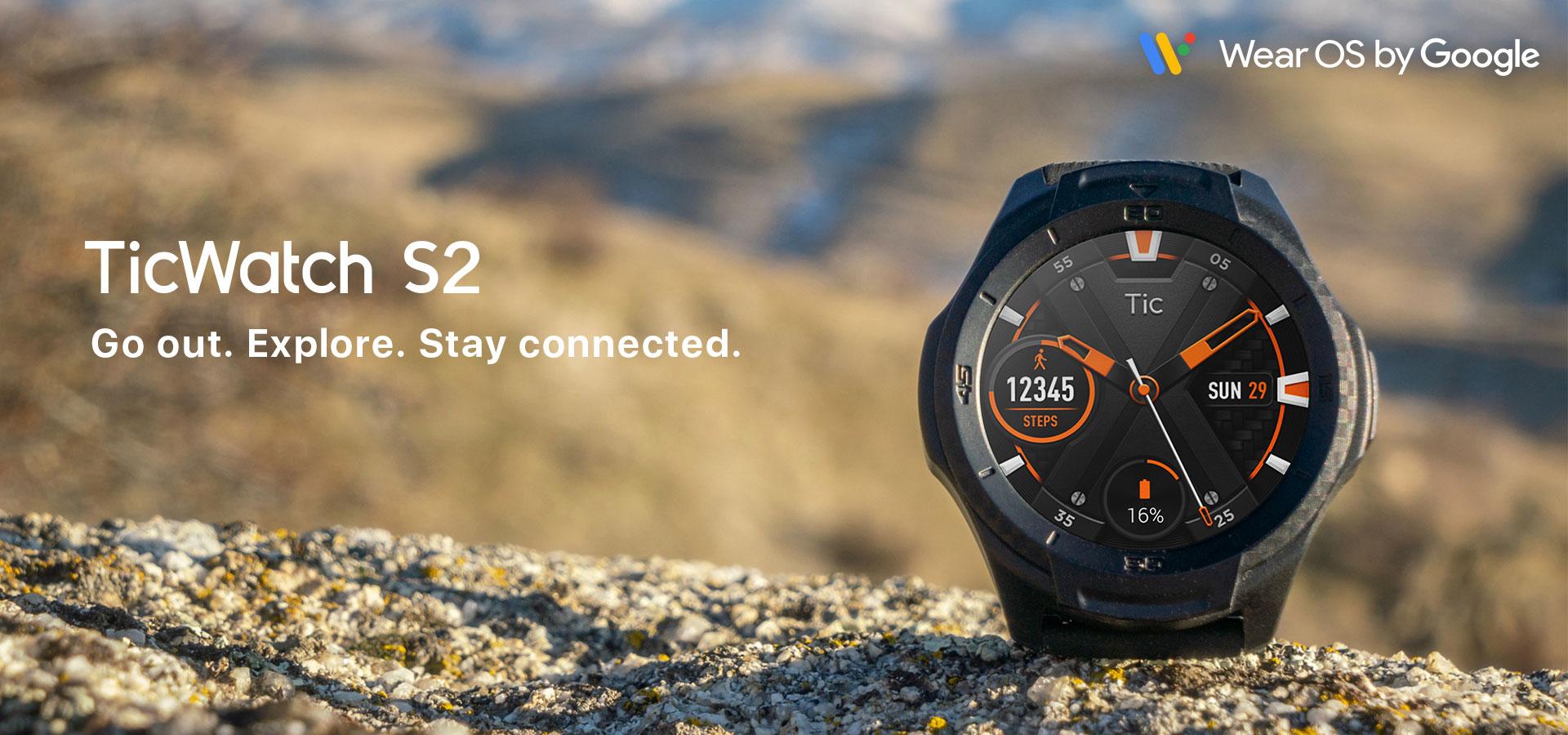 Montre GPS Ticwatch S2 Wear OS - Test & Avis - Mon GPS Avis.fr