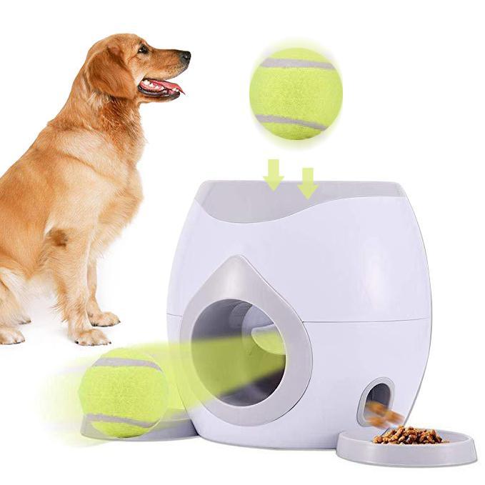 TPFOCUS jouet pour animaux de compagnie Intelligent chien de Tennis nourriture récompense Machine Interactive entraînement Teddy Labrador amusant jouet pour animaux de compagnie 2019
