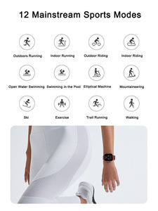 Image 4 - Global Version Amazfit GTS Smart Watch 5ATM Waterproof Swimming Smartwatch 14Days Battery Music Control for IOS Phone