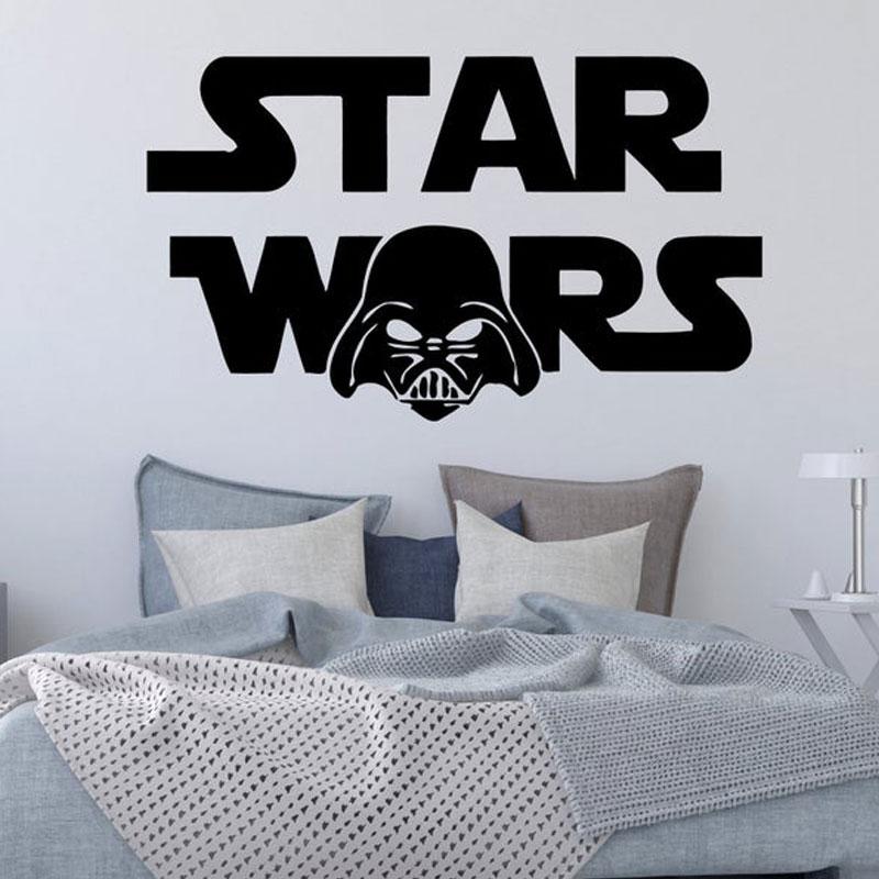 Darth Vader Wall Decal Children room Decor Vinyl Graphics