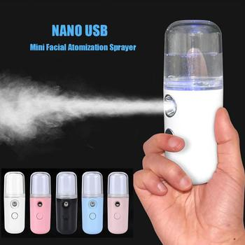 Portable Hydrating Sprayer Beauty Spray Apparatus Humidifier Rechargeable Nano Cold - discount item  30% OFF Household Appliances