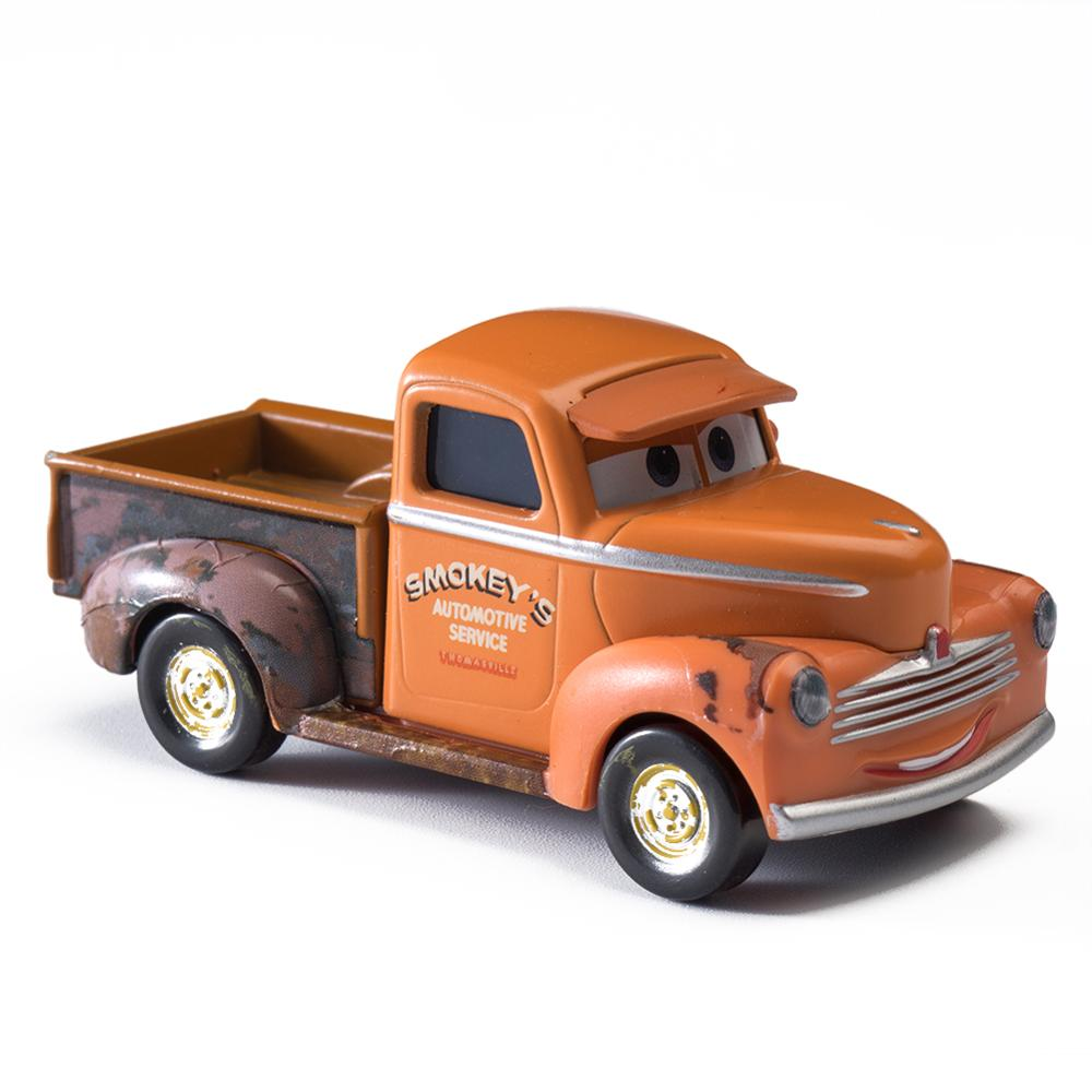 Disney Pixar Cars 2 3 Lightning McQueen Jackson Storm Mater Sally The King 1 55 Diecast Metal Alloy Model Cars Kid Gift Boy Toy in Diecasts Toy Vehicles from Toys Hobbies