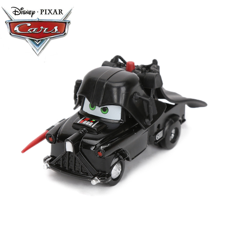 6.5-8.5cm Disney Pixar Cars 3 Toys Black Darth Vader Mater Die-cast Vehicle Lightning McQueen Whipplefilter Metal Alloy Car Mode