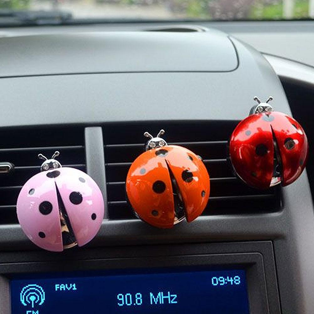 Insect Car Auto Vehicle Air Freshener Outlet Vent Perfume Diffuser Interior Accessories Boutique Parts Decoration