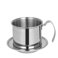 O portátil de aço inoxidável vietnam café dripper filtro máquina café gotejamento filtro pote filtros ferramentas|Filtros de café| |  -