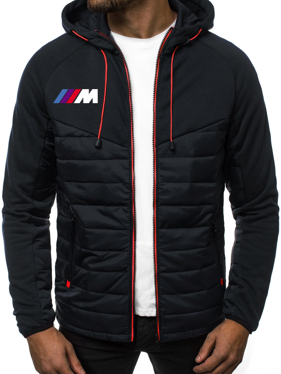 Hoodies Men For Bmw Power M1 Car Logo Print Fashion Casual Long Sleeve Hooded Sweatshirts Mens Jacket Zipper Man Hoody Clothing
