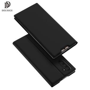 Image 1 - DUX DUCIS Leather Flip Case For Samsung Galaxy Note 10 Coque Wallet Case Cover for Samsung Galaxy Note 10 Plus Case Note10 Funda