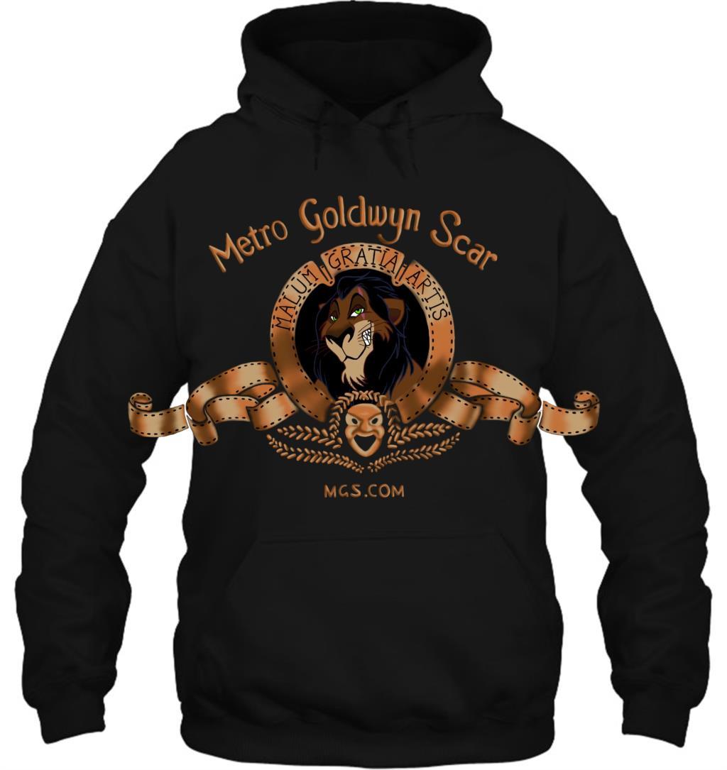 The Lion King Metro Goldwyn Scar Art All Sizes Women Streetwear Men Women Hoodies Sweatshirts