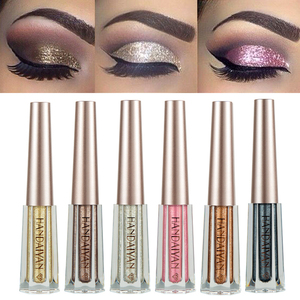 12 Colors Shimmer Liquid Eyeshadow Diamond Glitter Eye Shadow Cream Waterproof Long Lasting Gold Silver Metallic Cosmetic TSLM2