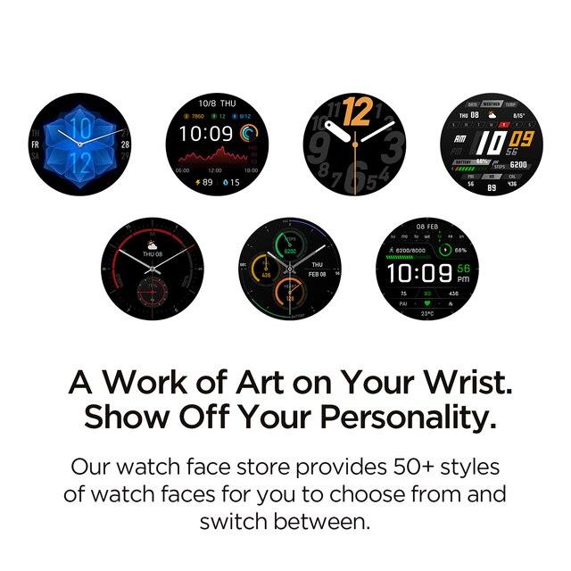 2021 novo amazfit gtr 2e smartwatch 1.39 amamamoled sono qualidade monitoramento 5 atm relógio inteligente para andriod para ios 2