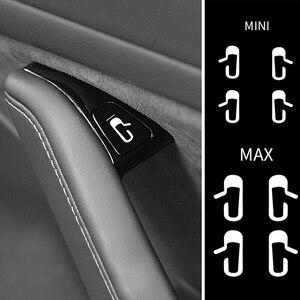Image 5 - Inside door opening reminder sticker Dedicated for Tesla MODEL 3 inside door opening reminder sticker