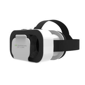VR SHINECON okulary do VR 3D kask wideo okulary zestaw słuchawkowy do 4.7-6.0 cali Android iOS Windows smartfony