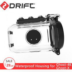 Original Drift Action Sports Camera 60M Waterproof Housings Case for Ghost 4K and Ghost X