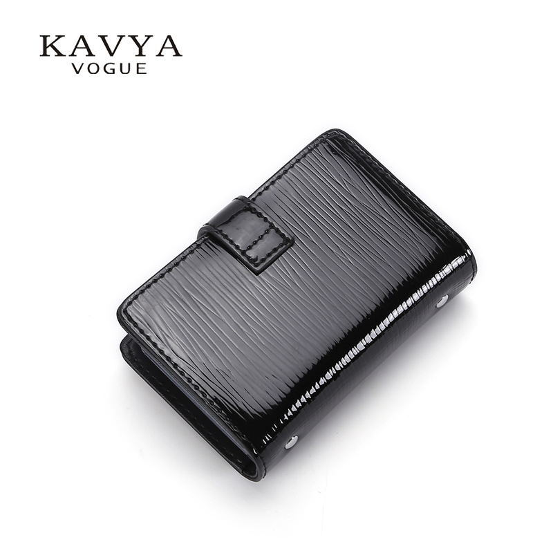Cattlehide Card Bag Genuine Leather Credit Wallet New Style Bank Card Package Pull-belt Korean-style Wallet Business Card Holder