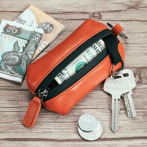 Image 5 - NewBring Genuine Leather Key Wallet Holder Scratchproof Shoe Strap Housekeeper DIY Smart Key Organizer