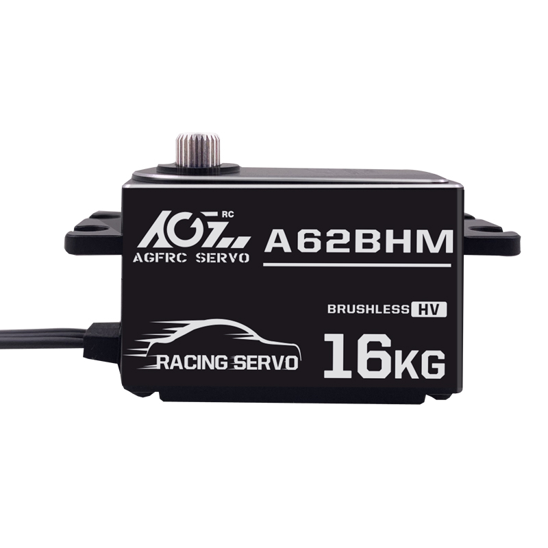 AGF A62BHM brand new high precision dual ball bearing low profile brushless programmable digital servo for rc boat