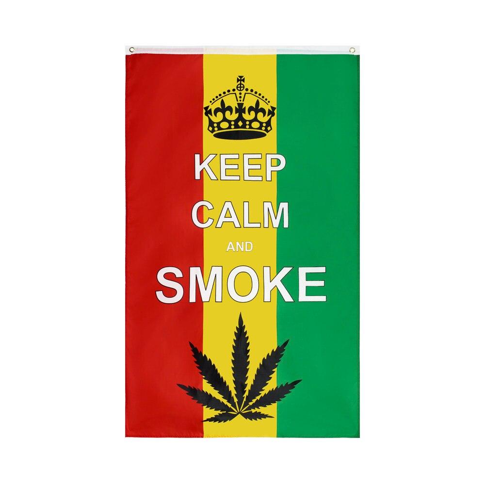 "Cannabis Reggae Festival Small Hand Waving Flag 6/"" x 4/"""