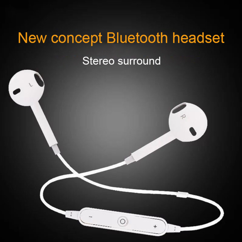 CHYI Bluetooth Wireless Headphones In Ear Earphones With Microphone Stereo Sport Gaming Headset Music Earbuds For Iphone Samsung