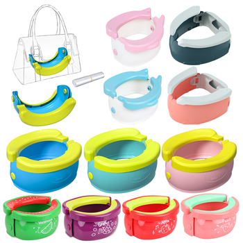 Portable Children's Potty Pots Baby Potty Toilet Training Seat Folding Travel Potty Rings For Kids Vehicle Urinal For Baby Boys