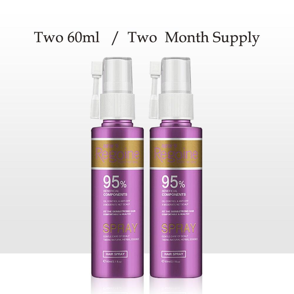 Hair Growth Serum Spray Hair Care Growth Essence Pure Original Essential Oil Liquid Natural Hair Loss Treatment hair growth 2pcs