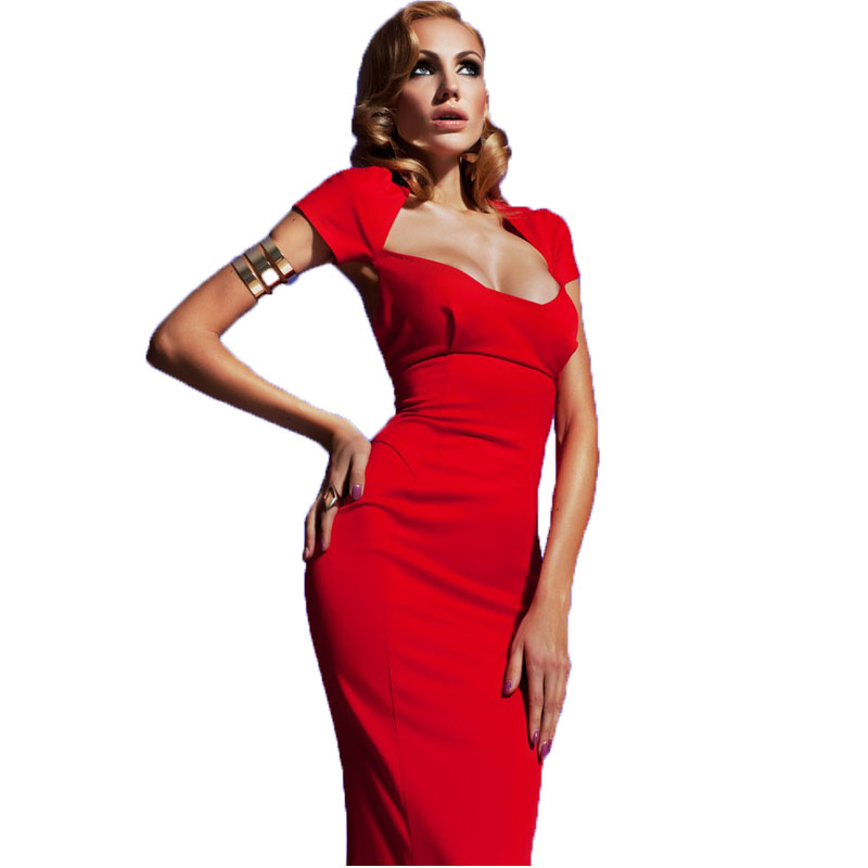 Cap Sleeve Red Long Mermaid Evening Prom Gown Hollow Backless Satin Party  Vestido De Noiva 2018 Mother Of The Bride Dresses