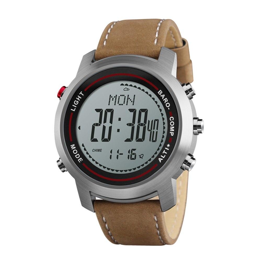 Profesyonel erkek açık MG03 akıllı bluetooth saat hakiki deri tuzak ile kamera SIM kart akıllı kol saati title=