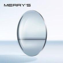 MERRYS-lentes esféricos para presbicia, lentes ópticas de alta calidad, más delgadas y resistentes, Series para miopía, hipermetropía
