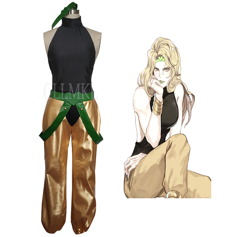 Anime JoJo's Bizarre Adventure DIO BRANDO Cosplay Suit Uniform Outfit Costumes