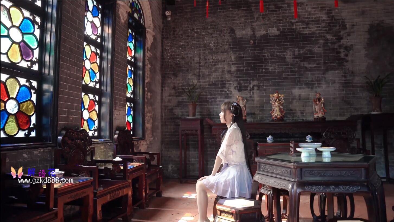 美少女up主@いとう哀 仙女裙 自唱自跳古风舞《花开一片》_图片 No.12