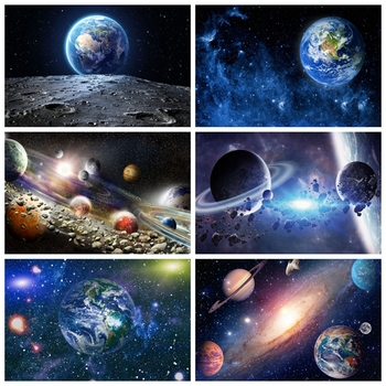 Earth Universe Space Planet Solar System Starry Sky Baby Shower Boy Birthday Backdrop Photography Background For Photo Studio taylor butler christine space planet earth